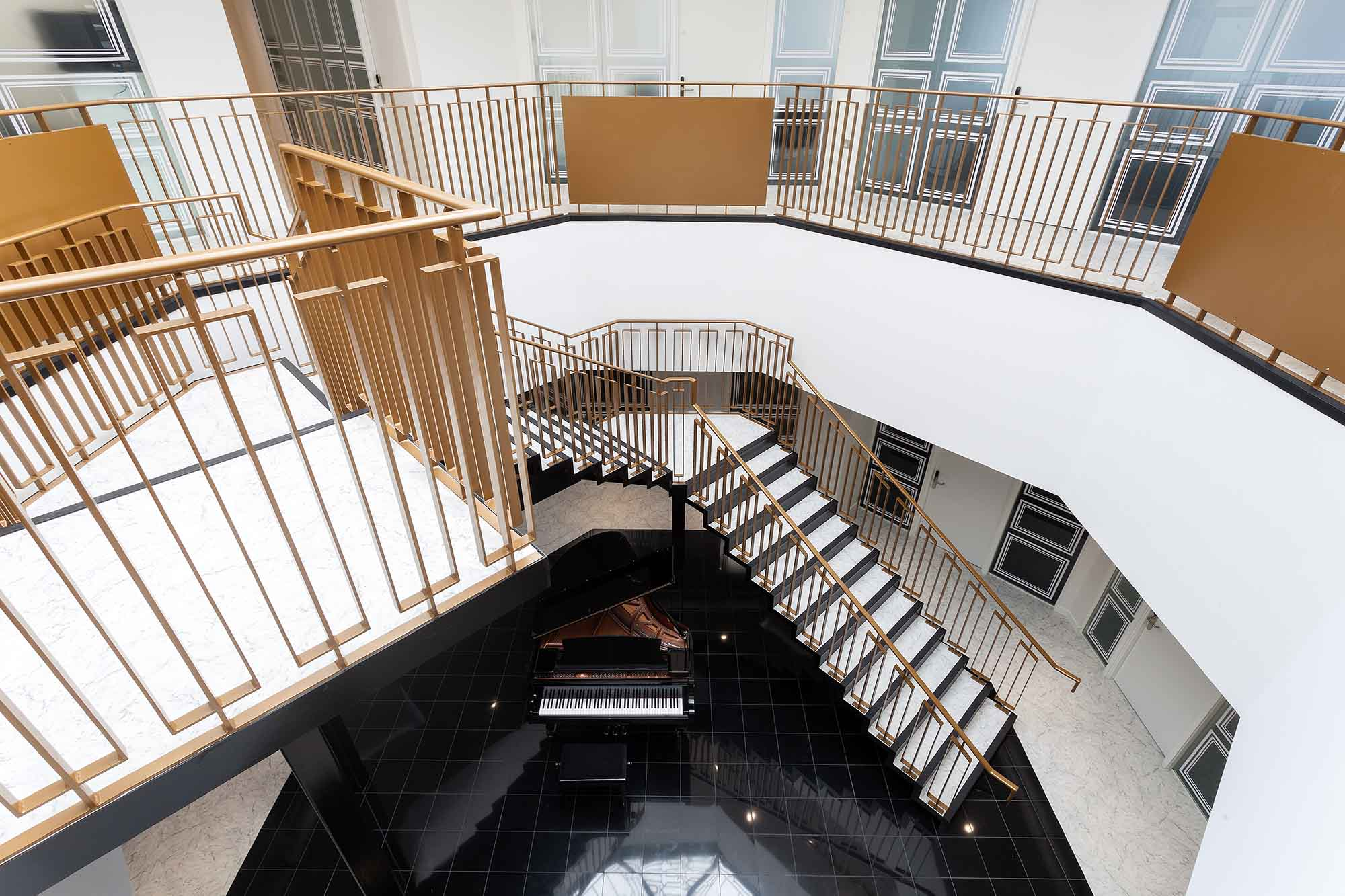 Office Space in Town Mayfair Staircase