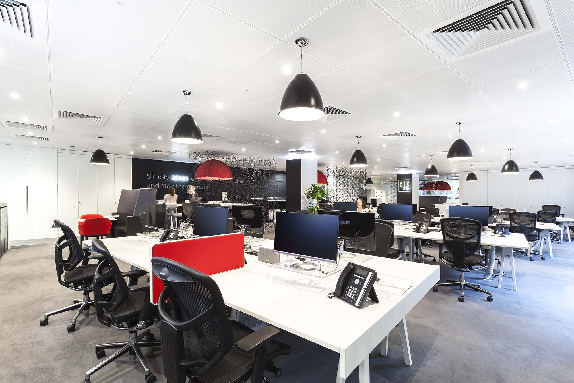 M&C Saatchi Open Plan Office