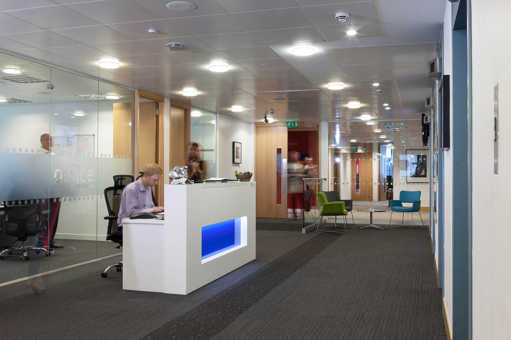 Office Space in Town Euston Tower Reception