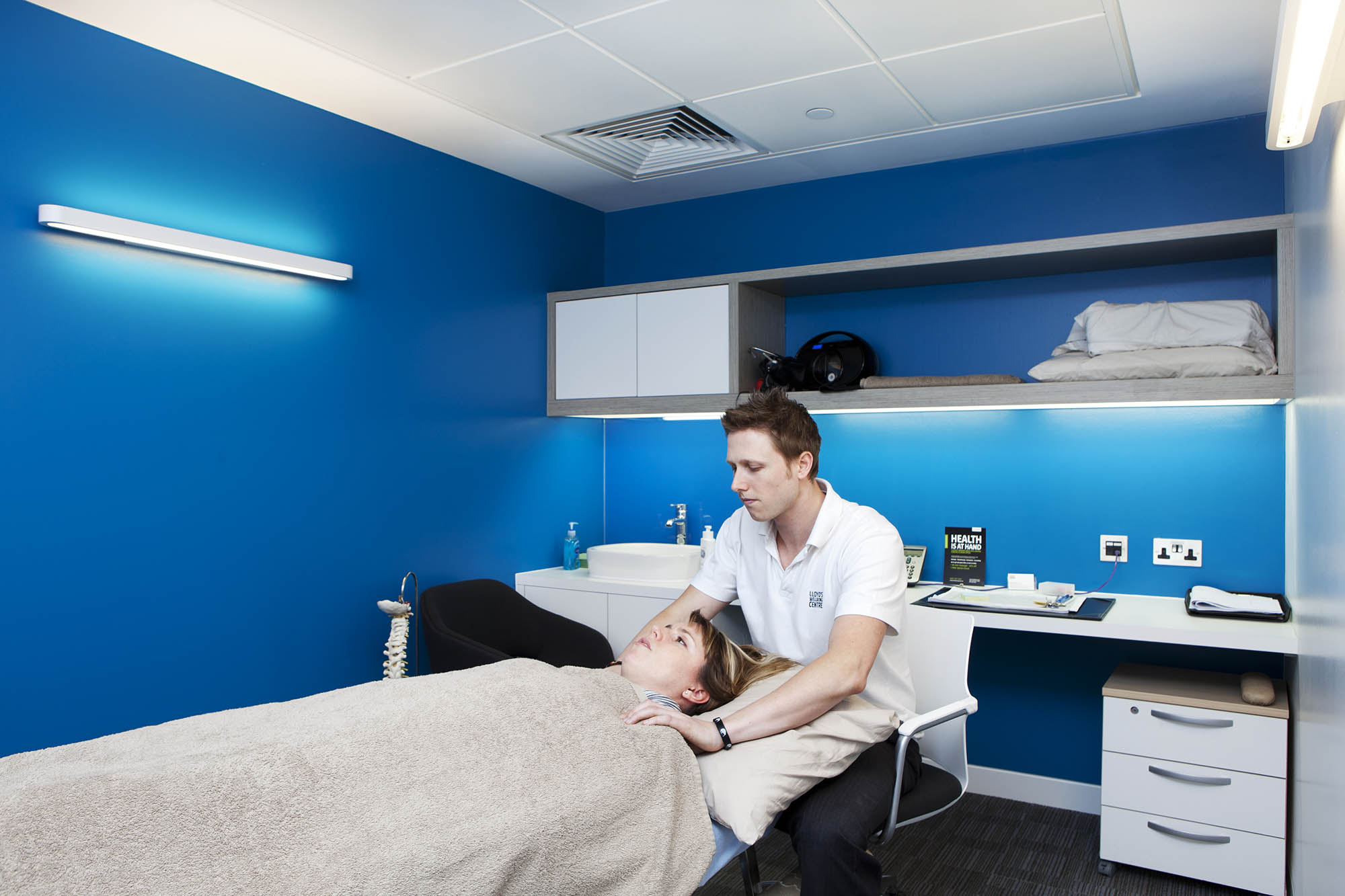 Lloyd's Wellbeing Centre Treatment Room