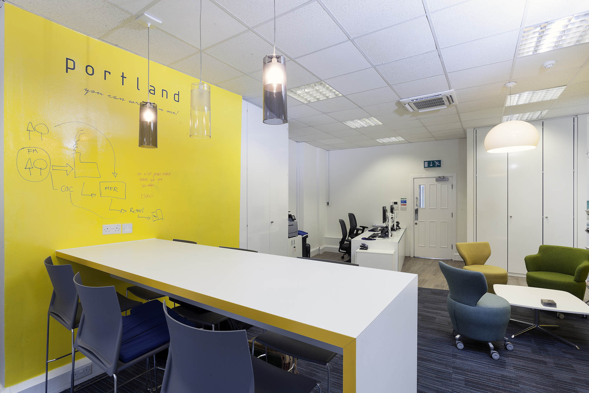 Carnstone Partners Sit Stand Meeting Area