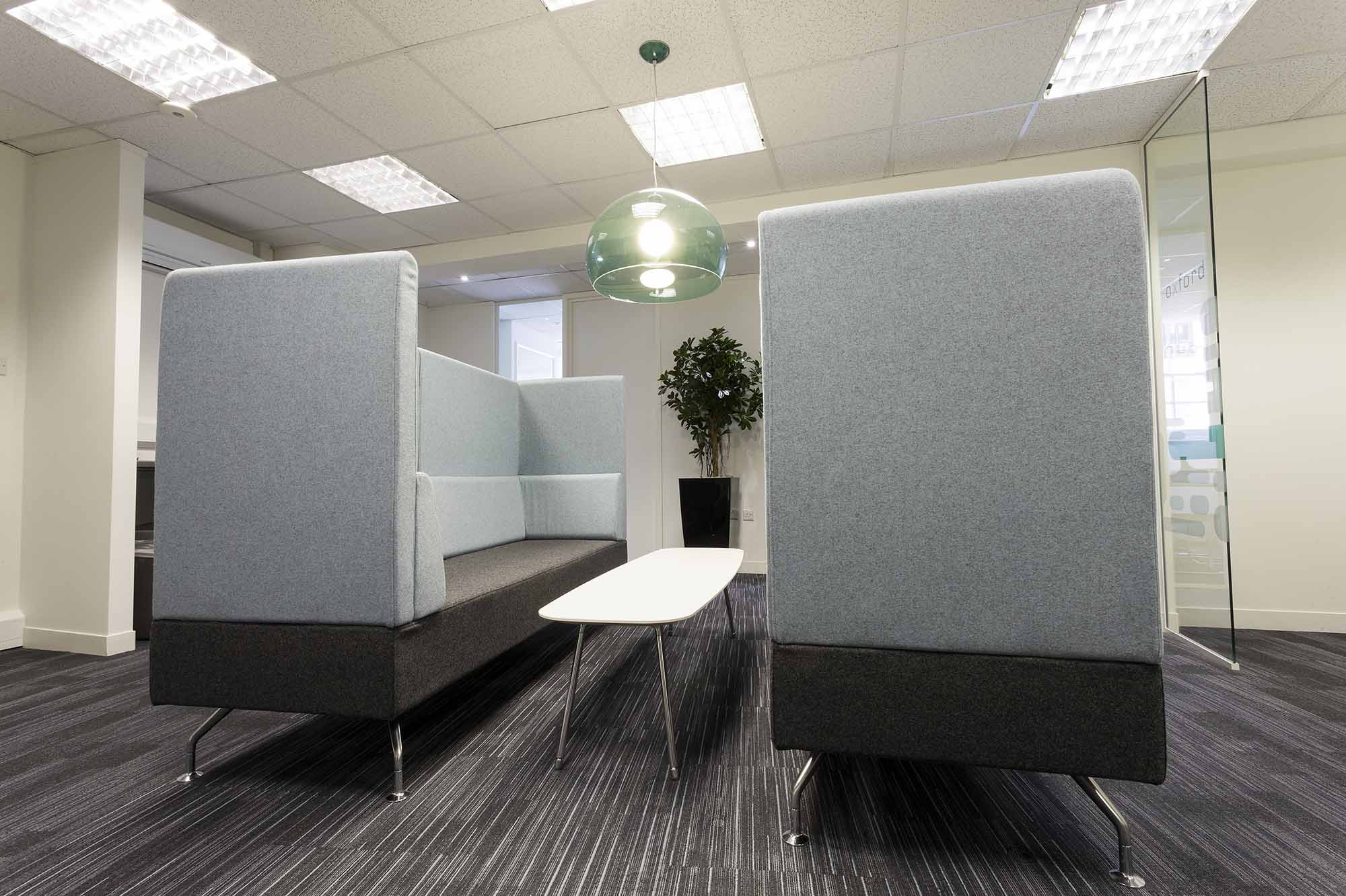 Carnstone Partners Seating Booth
