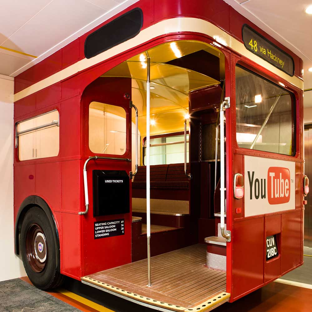 Google Routemaster Bus