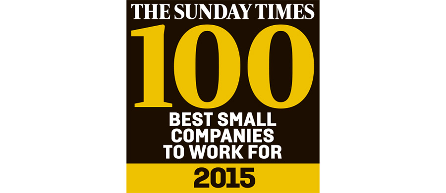 the sunday times 100 best companies to work for 2015