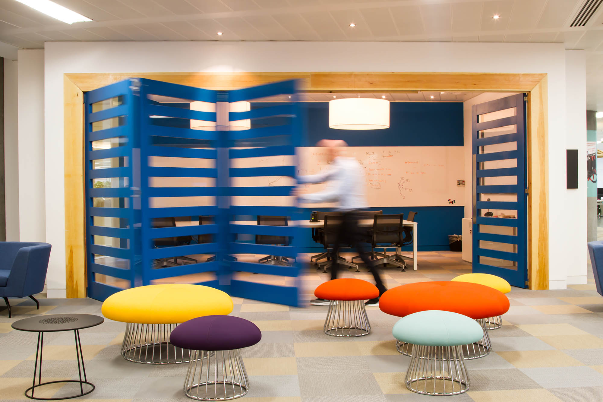 Justgiving London Office Design Peldon Rose