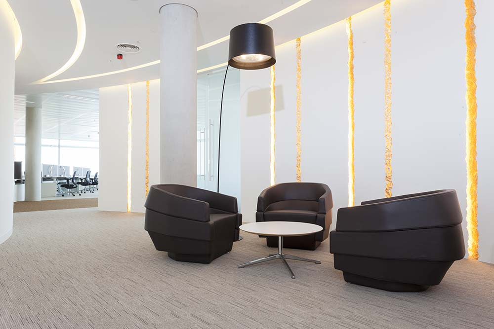Aker Solutions Seating Area