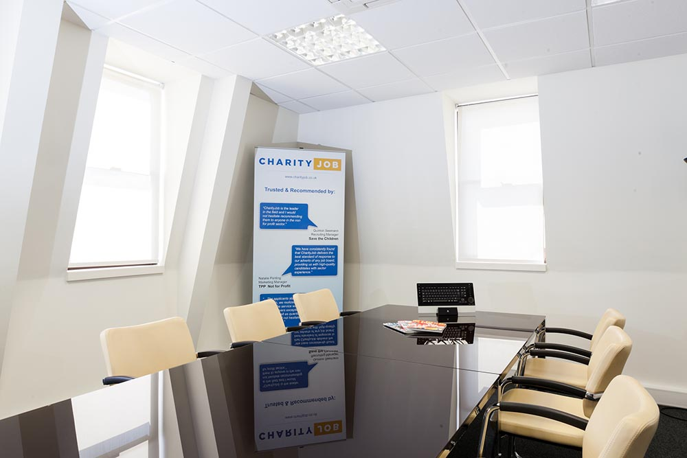 CharityJob Meeting Room