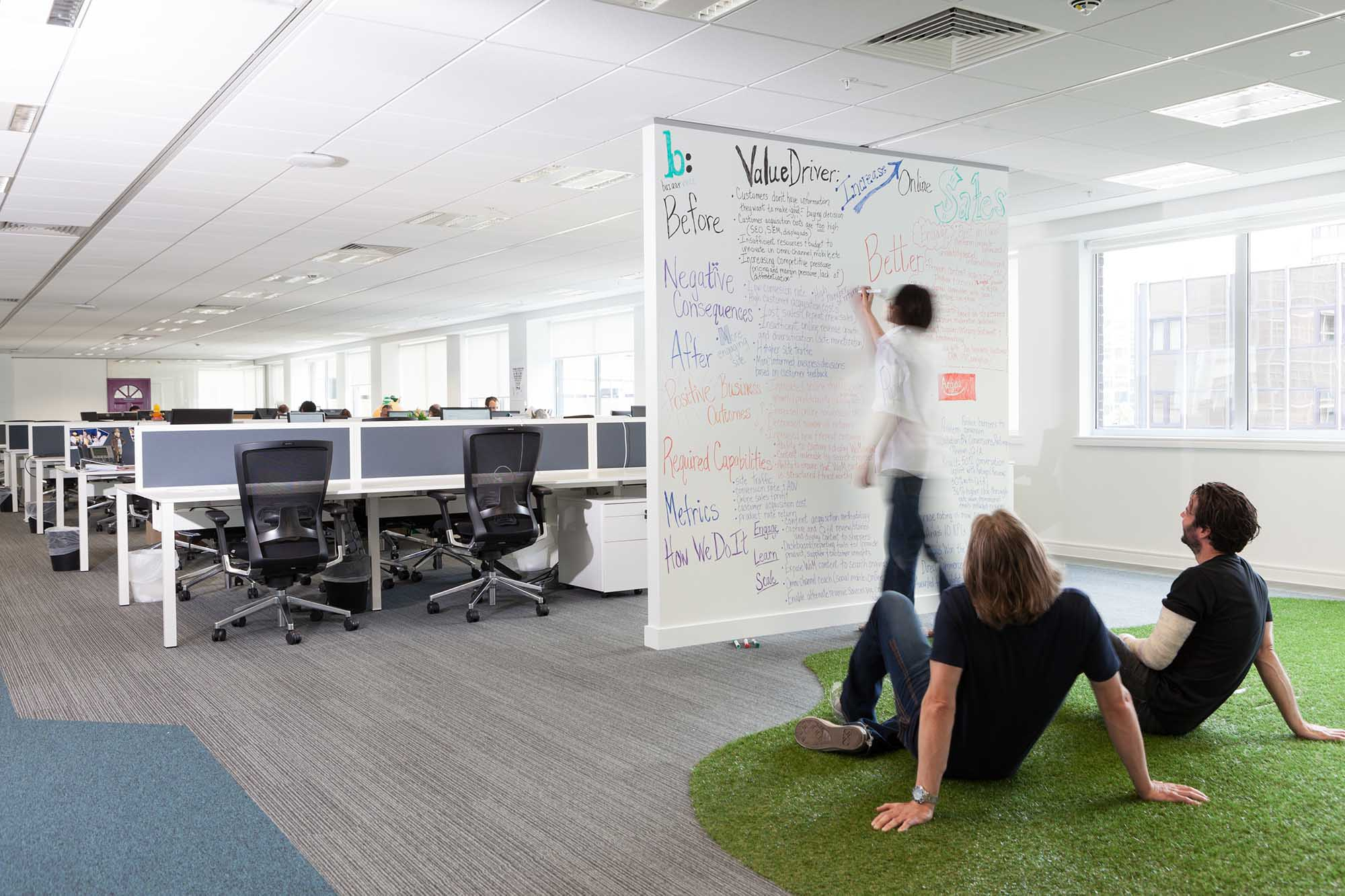 Bazaarvoice Whiteboard Open Office