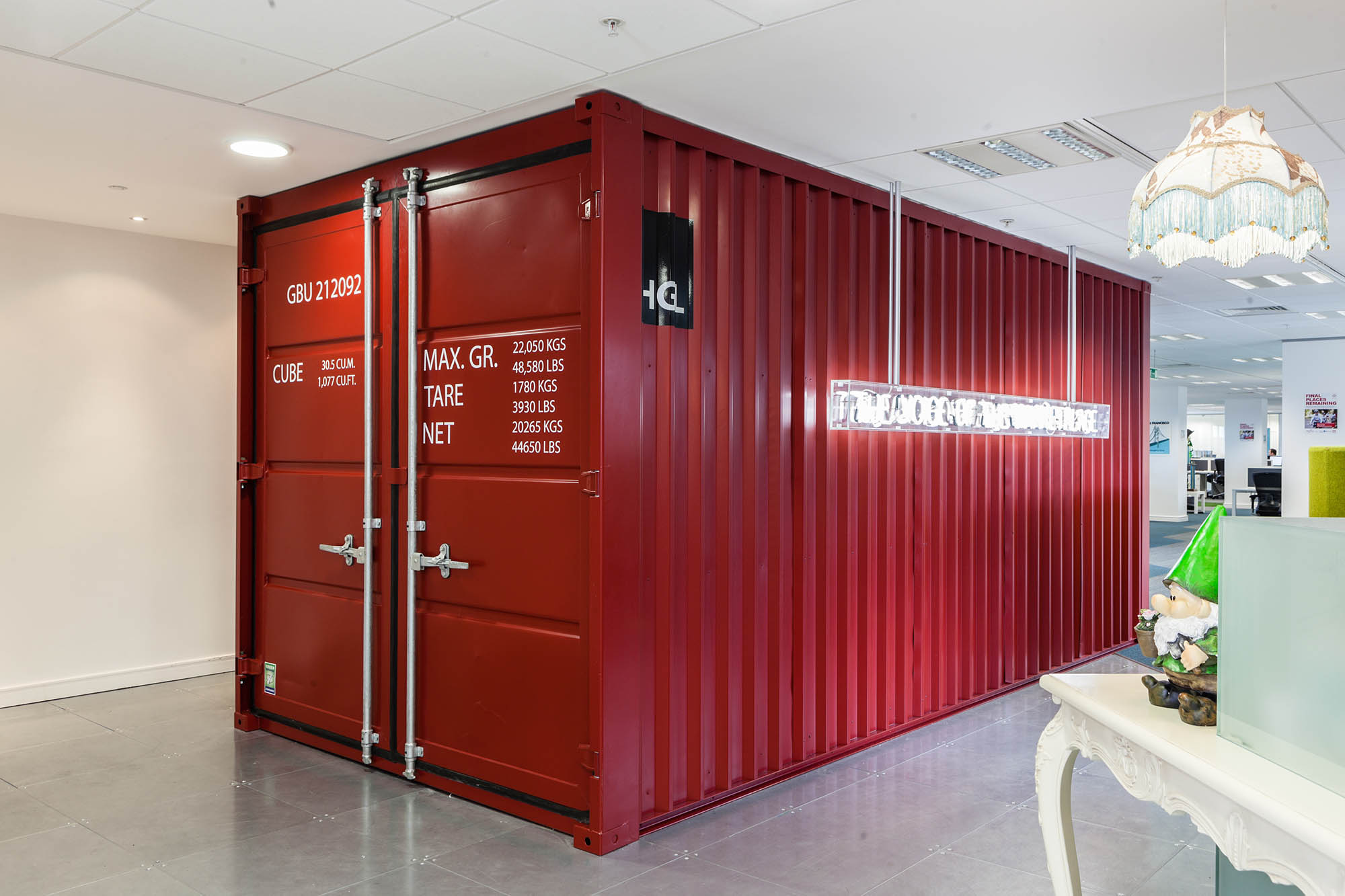 Bazaarvoice Shipping Container