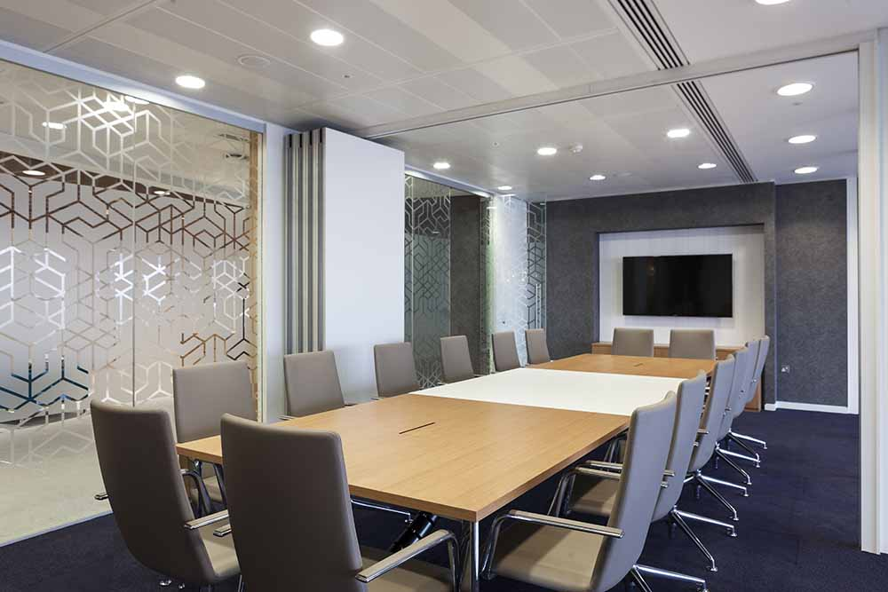 Heron Tower Meeting Room