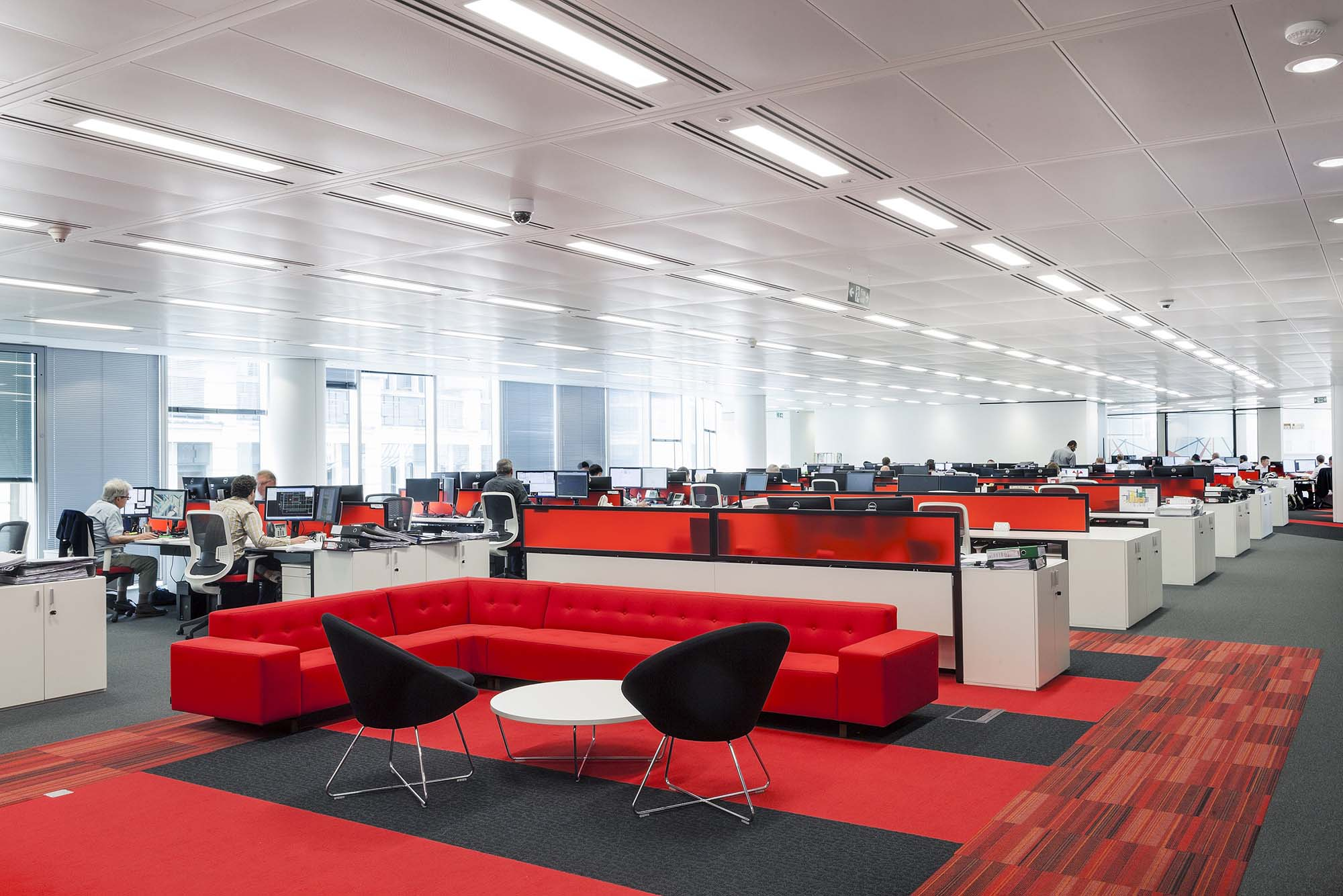 1 London Wall soft seating