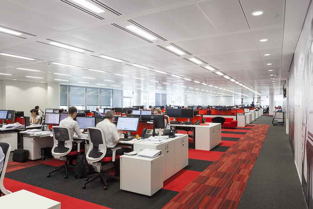 1 London Wall staff floor