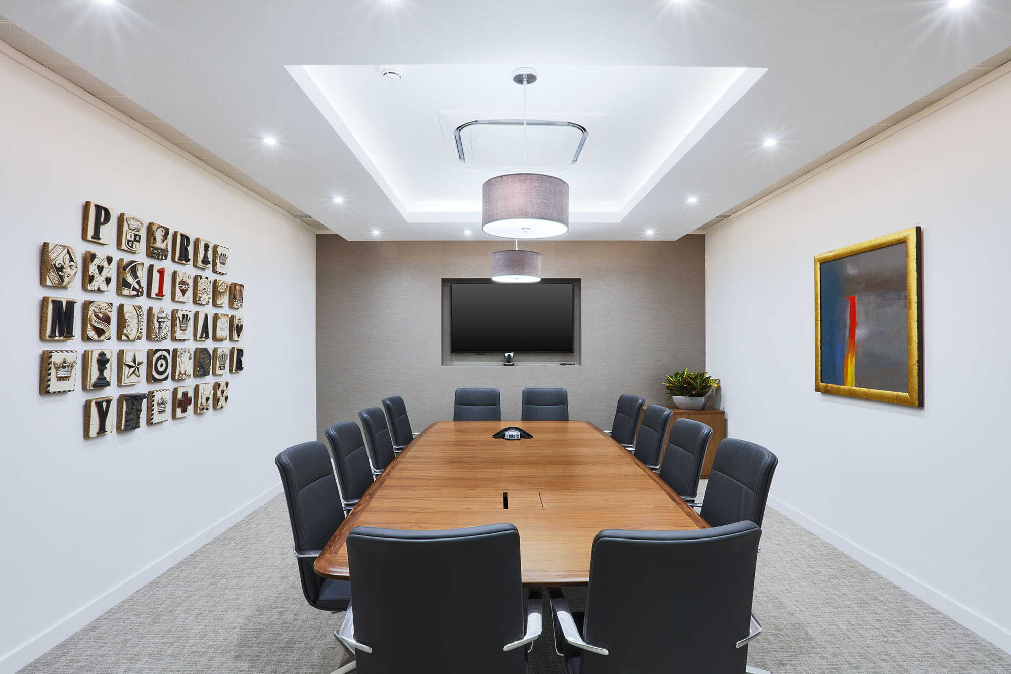 primary boardroom table