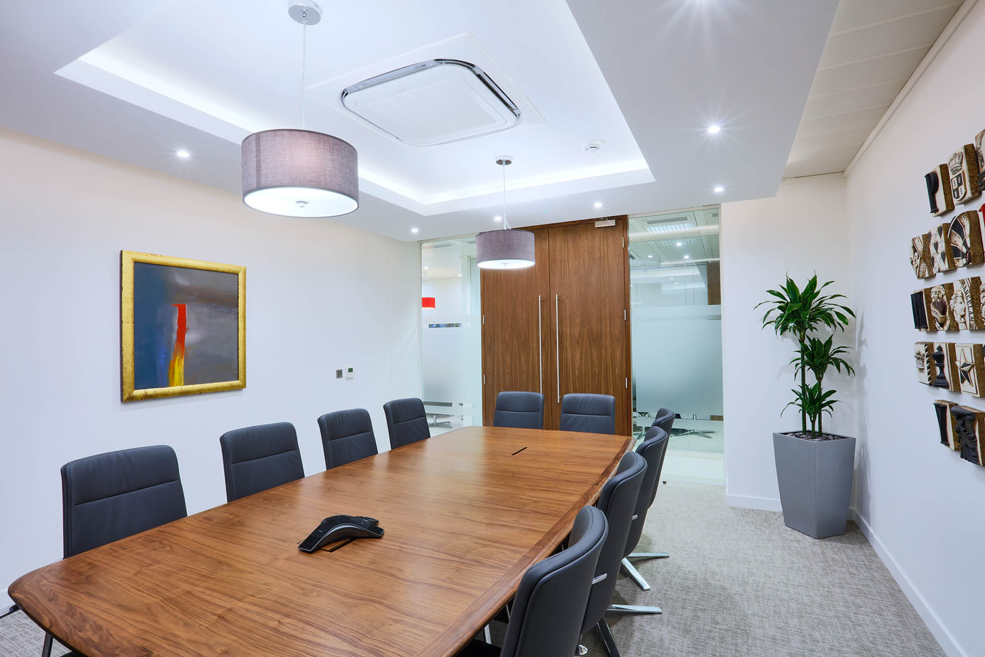 primary boardroom space