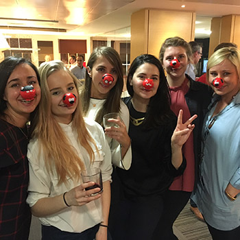 Supporting Red Nose Day 2017
