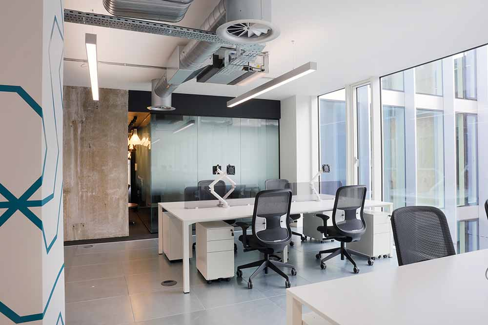 natural light in office space