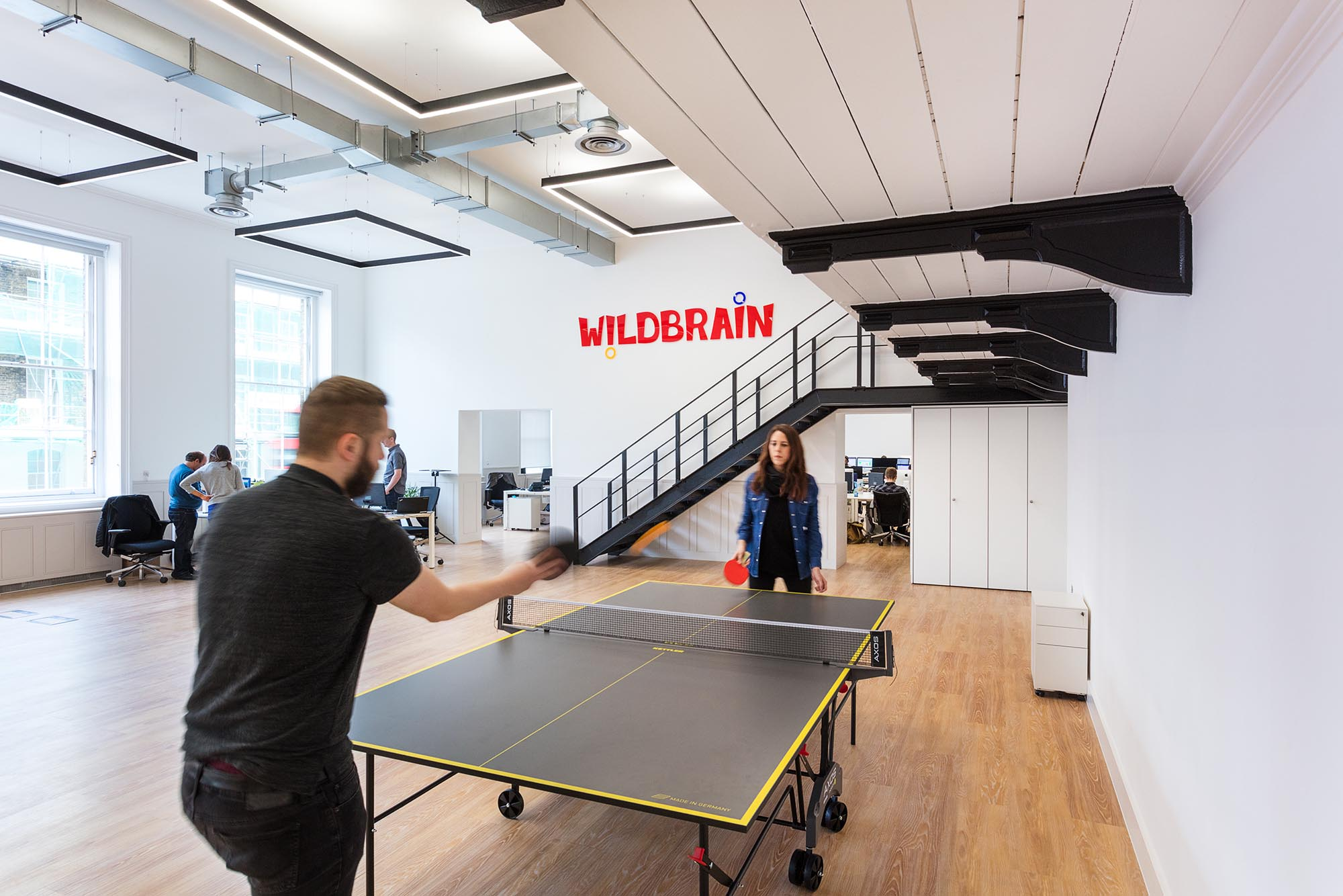 WildBrain Table Tennis Table