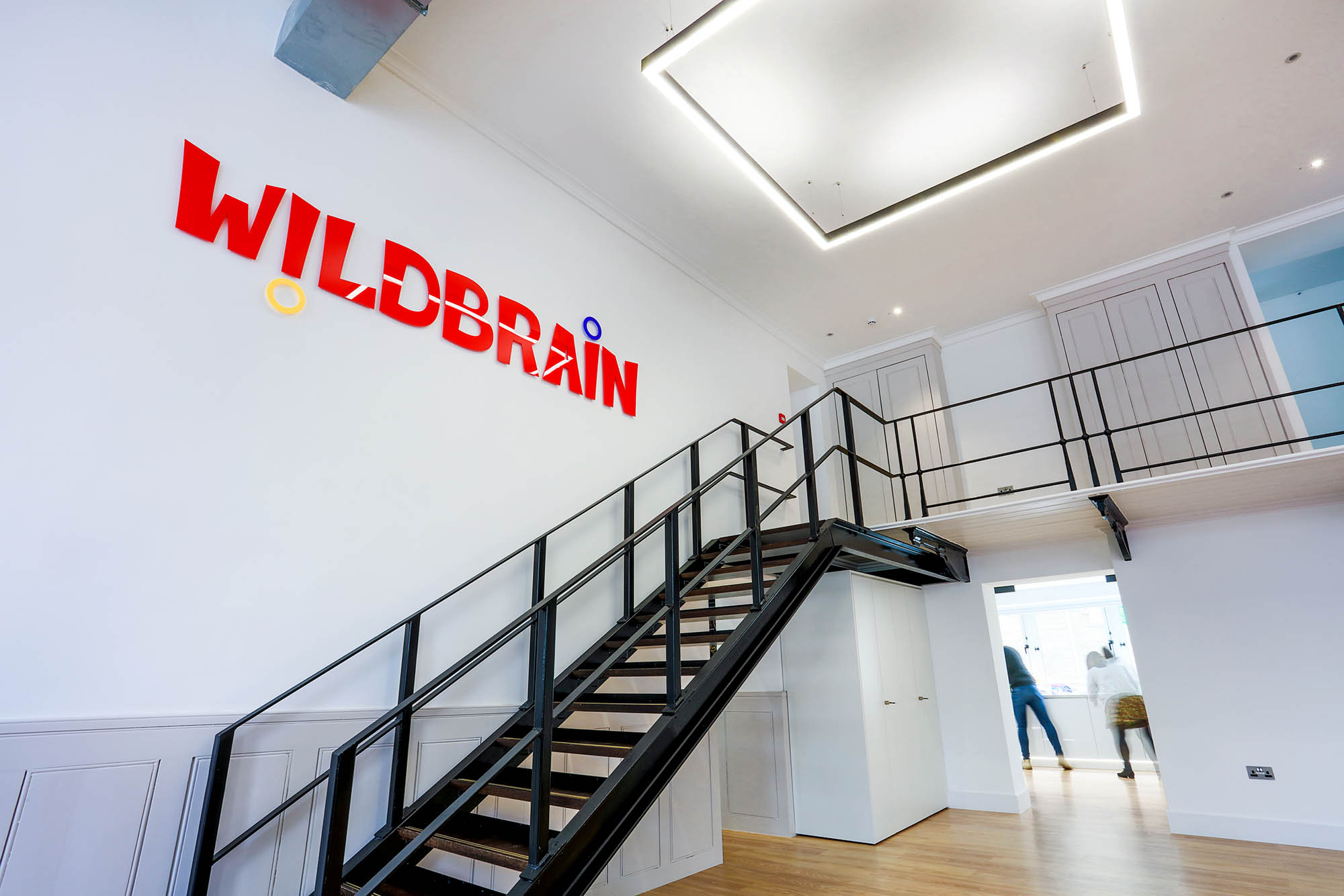 WildBrain Stairs and Mezzanine