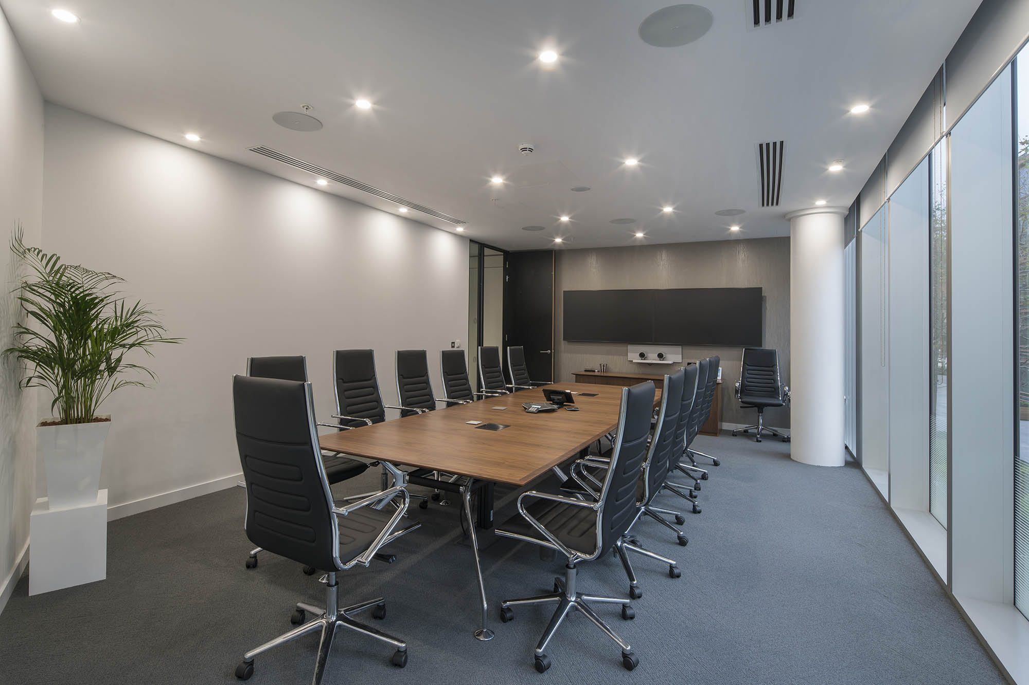 Marlin Equity boardroom