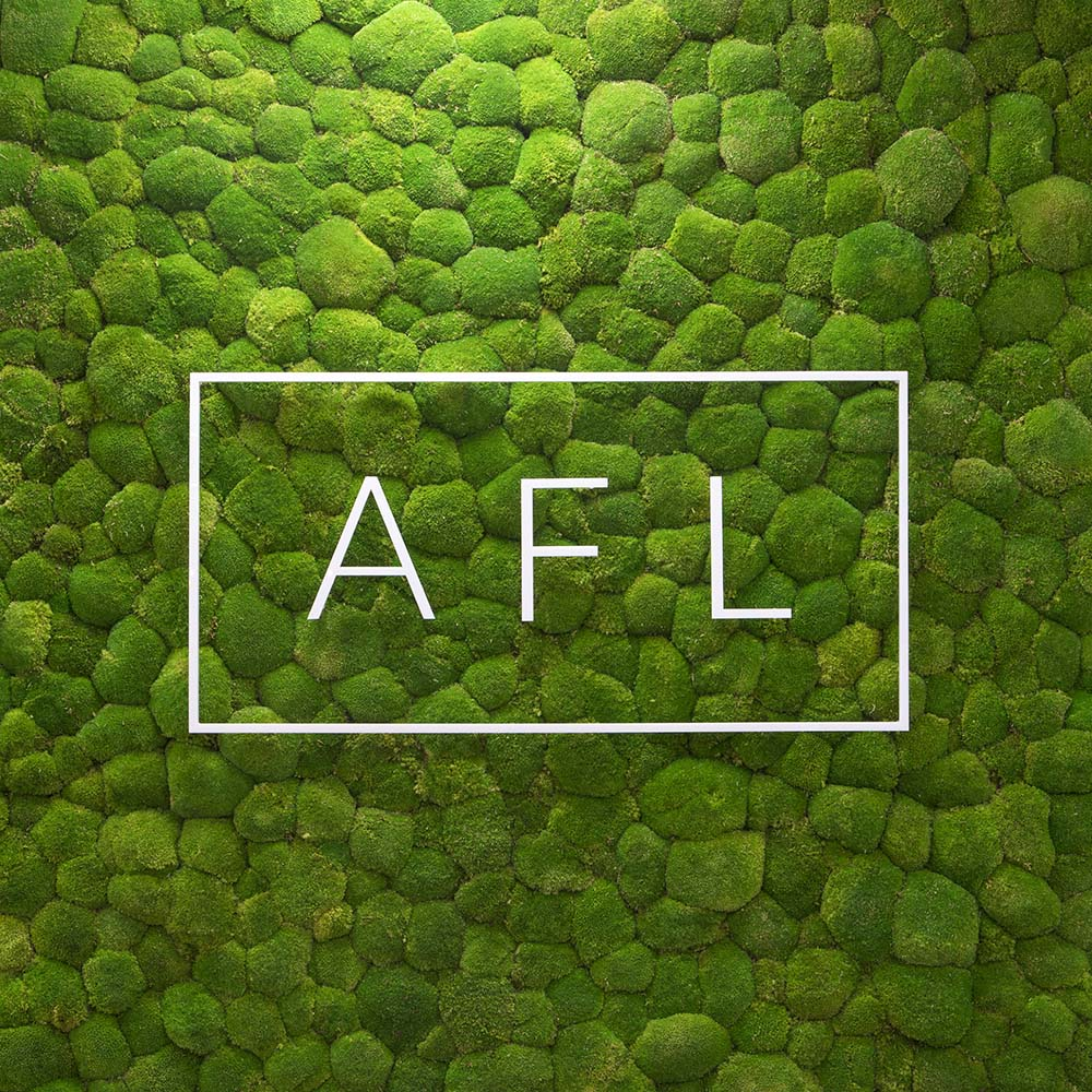 AFL Insurance Biophilic Moss Wall