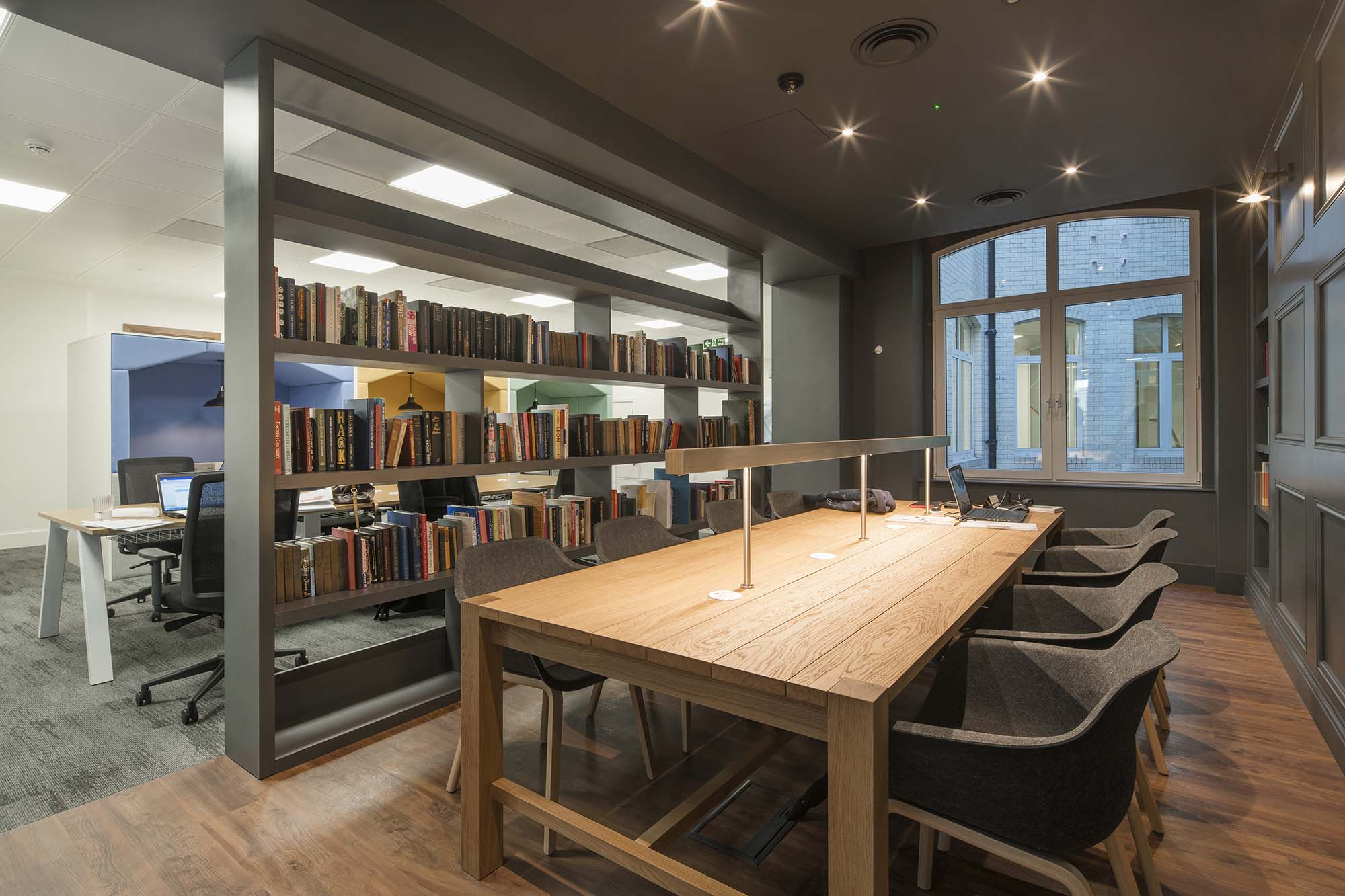 AFL Insurance Collaborative Library Desking