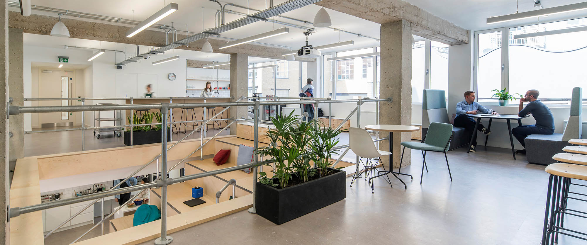We design inspirational workplaces