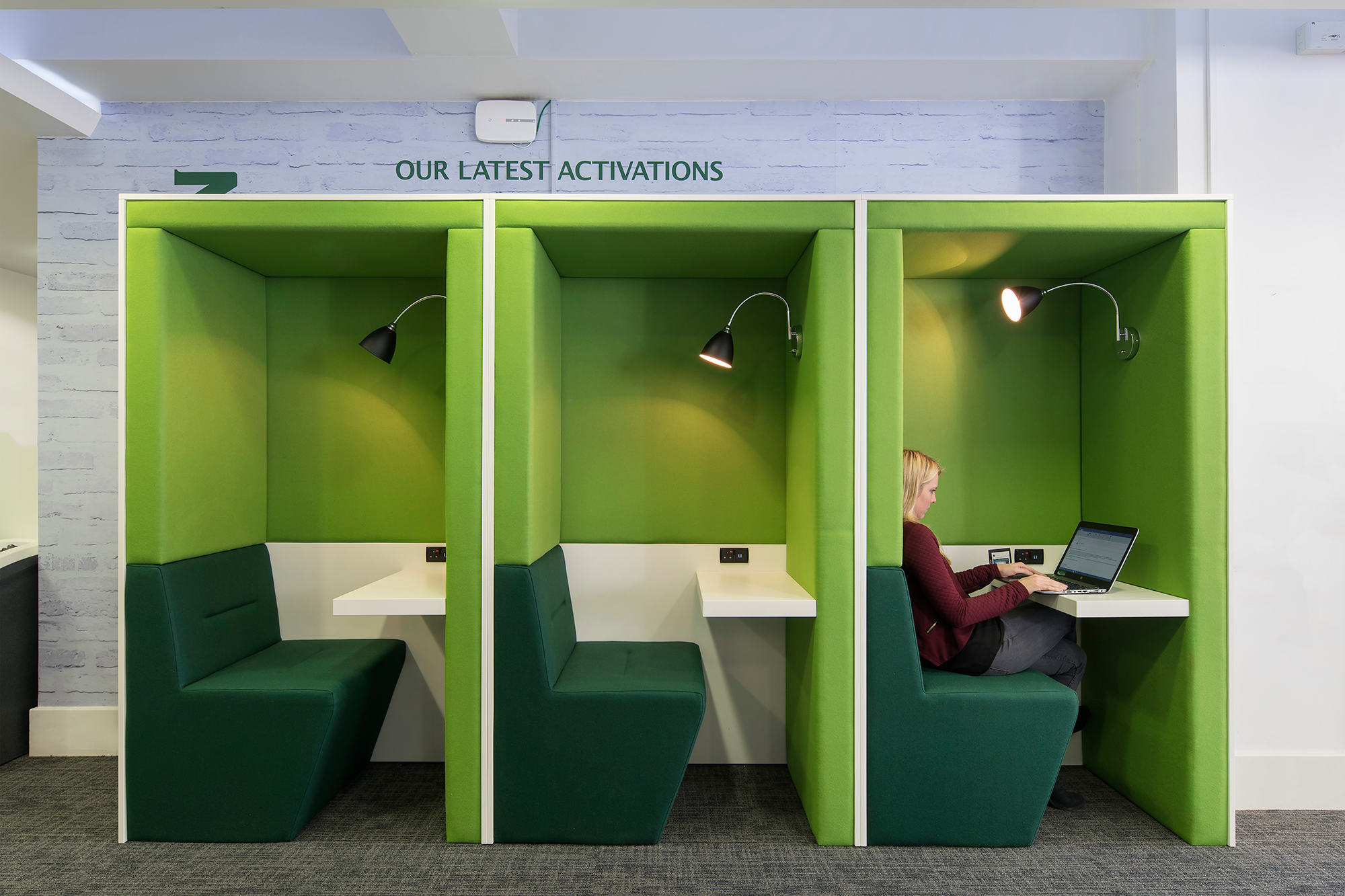 Heineken work booth design