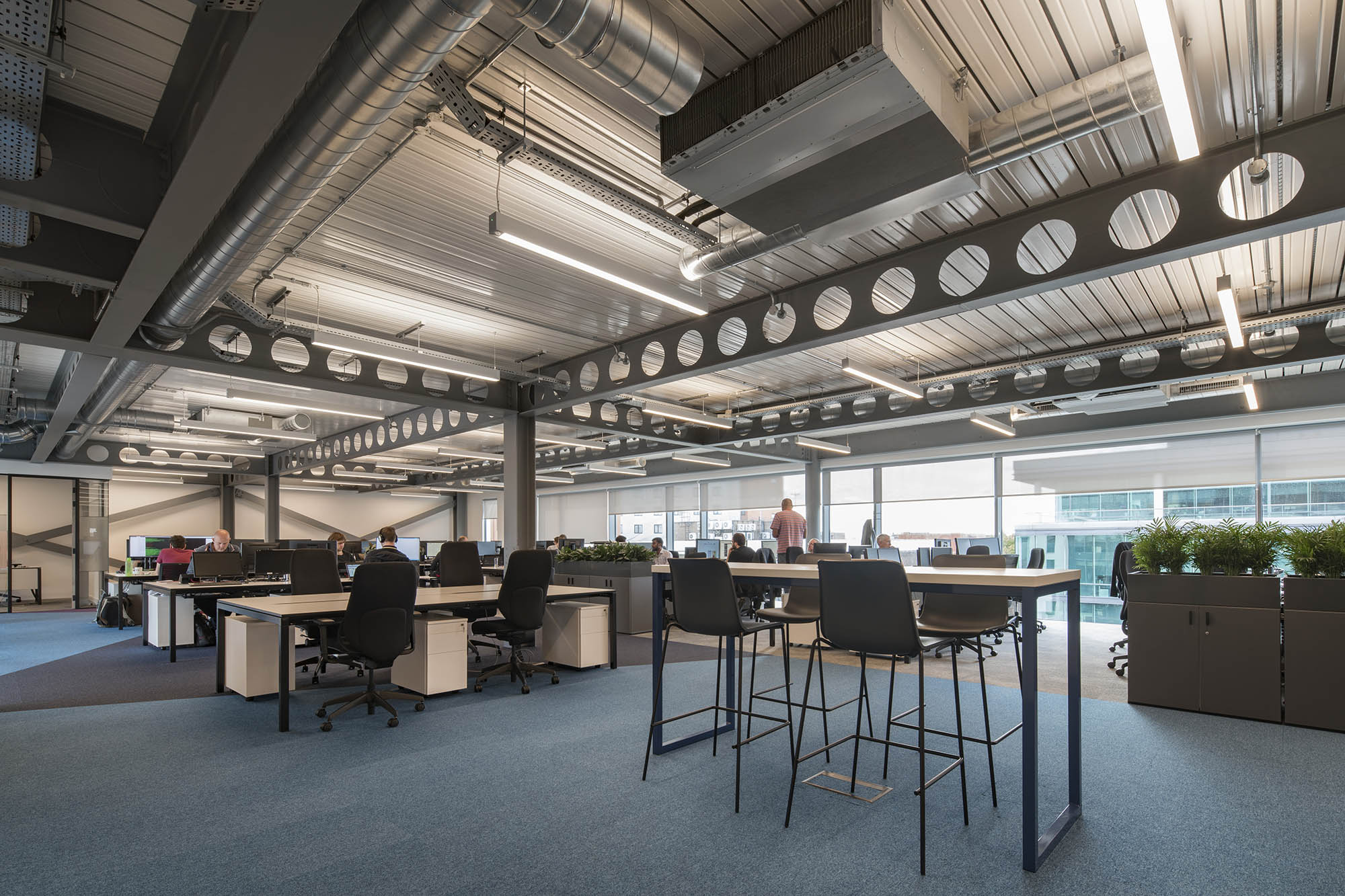 Salmon Office Fit Out