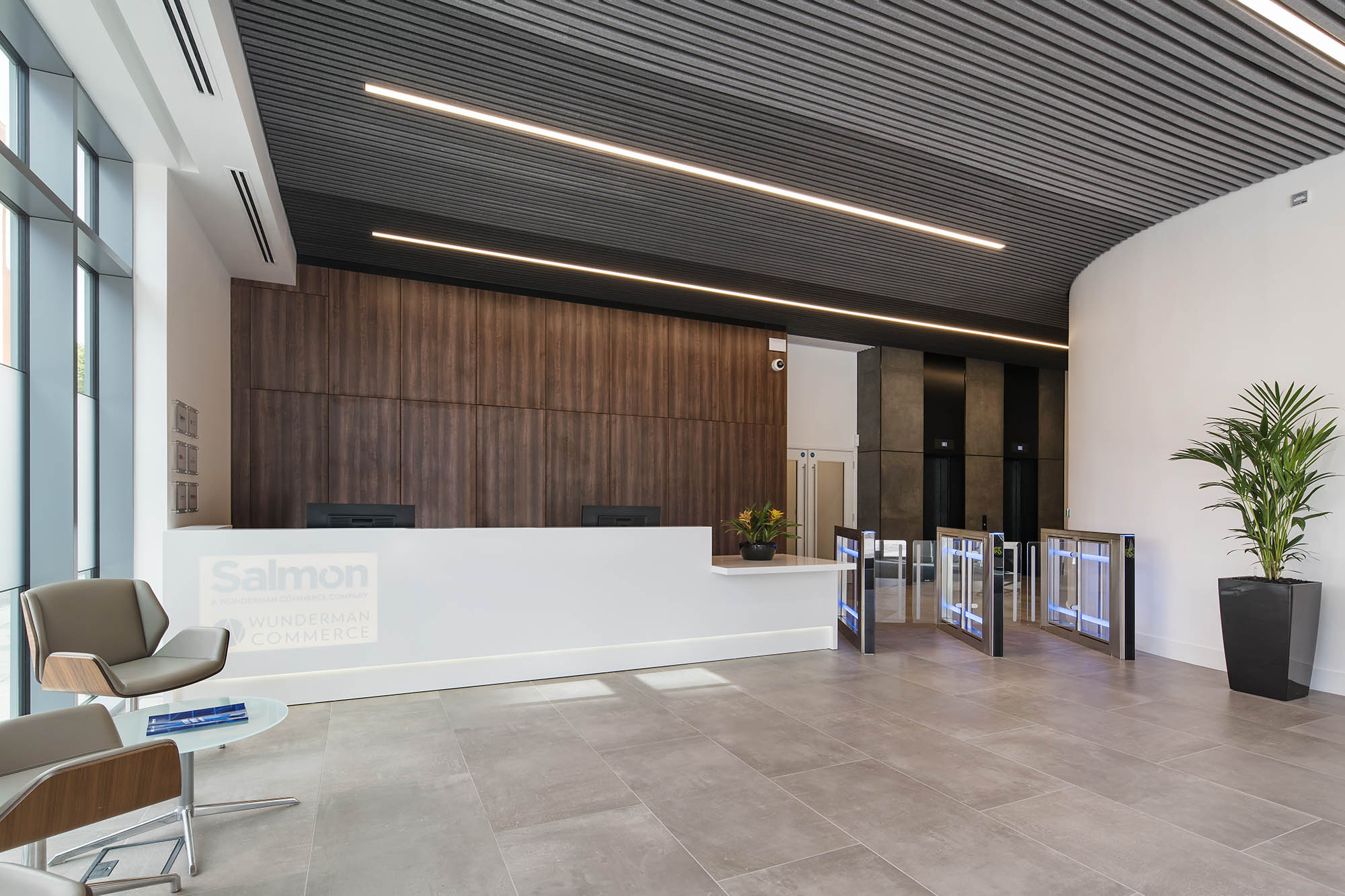 Salmon Reception Area