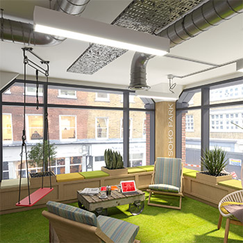 Biophilic design in the heart of Soho