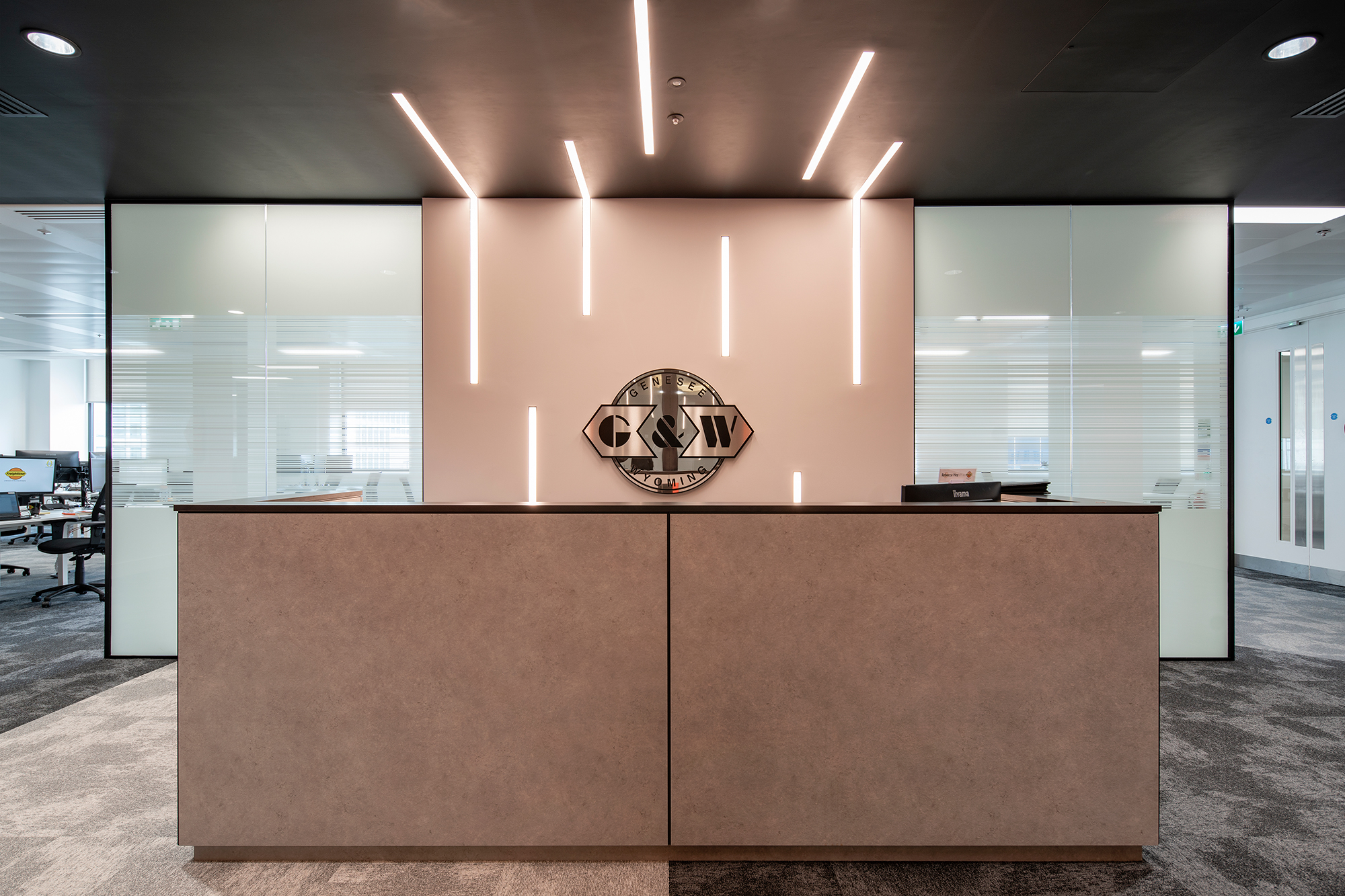 G&W Reception Desk